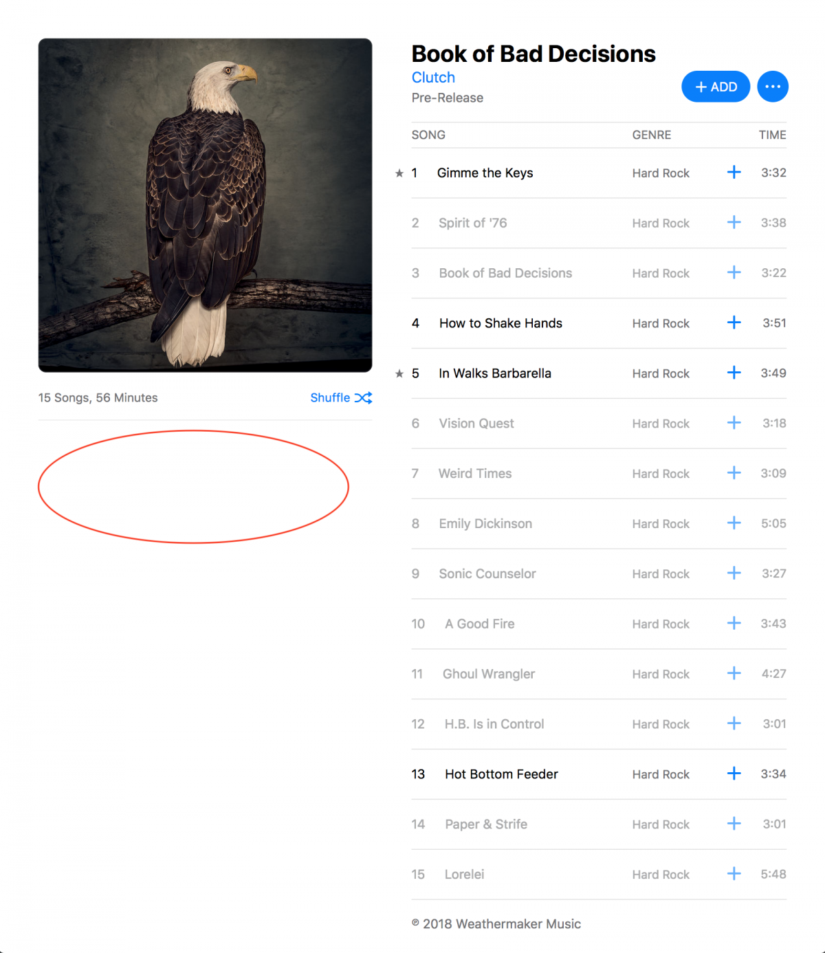Clutch's Book of Bad Decisions on Apple Music