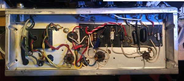 Silverface Fender Champ circuit