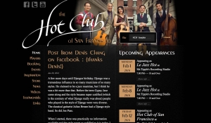 Hot Club of San Francisco home page