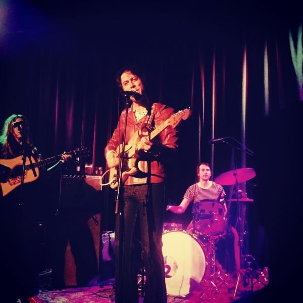 Daniel Romano performing with the Trilliums