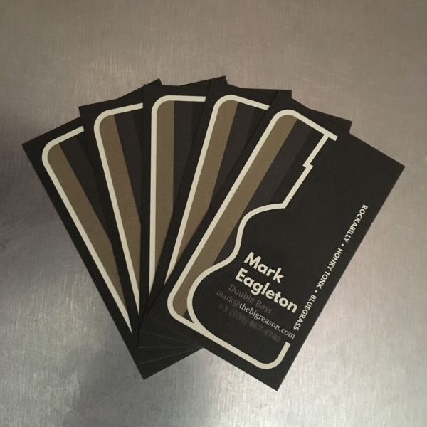 Mark Eagleton Business Cards