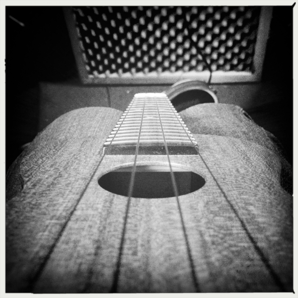 My grainy ukulele