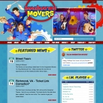 Imagination Movers home page