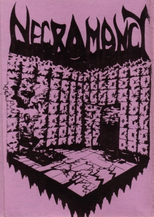 Necromancy demo cover from 1989