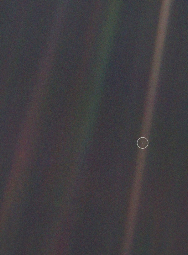 Earth from 6 billion kilometers