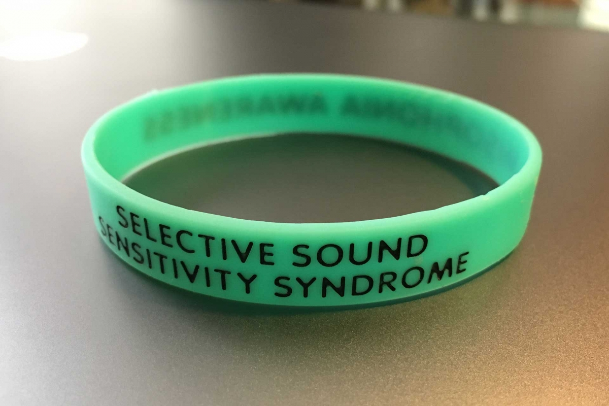 Selective Sounds Sensitivity Syndrome awareness bracelet