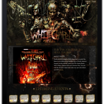 Whitechapel home page on iPad